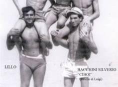 Estate 1954 - Spiaggia di fronte Hotel Regina