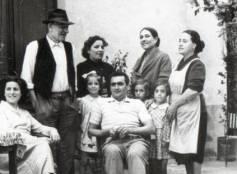 Cattolica, 1950 / 1951. Osteria cucina casalinga via Cesare Battisti/angolo via Pascoli