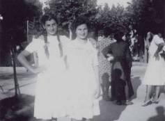 Cattolica, via C.Battisti, 1943 circa.