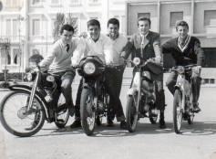 Cattolica piazza 1° Maggio, 1957