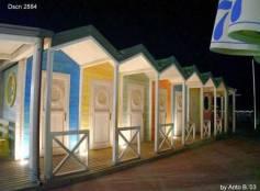 Cabine al mare by night