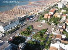 Piazza delle fontane Cattolica