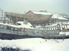 Cattolica sotto la neve