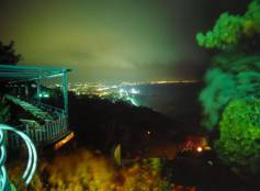 Panorama notturno di Cattolica