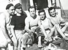 1951, equipaggio motopeschereccio