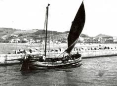 Gabicca/Cattolica Portocanale, 1933, rientro dalla pesca