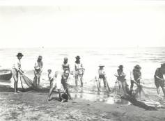 Pescatori n spiaggia