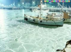 Porto ghiacciato di Cattolica