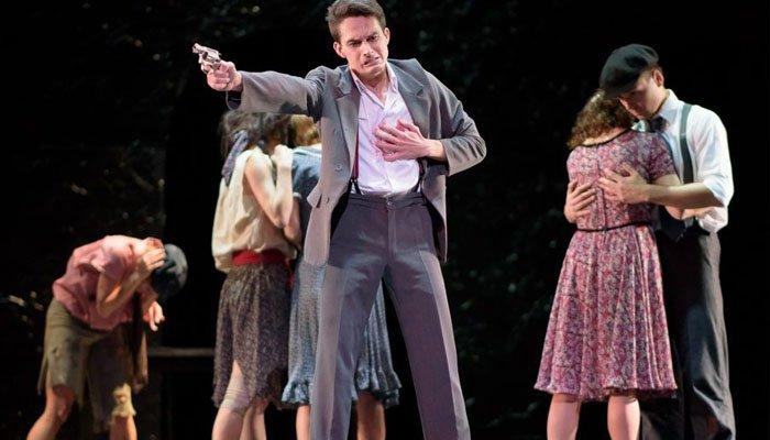 Romeo e Giulietta - una scena dello spettacolo