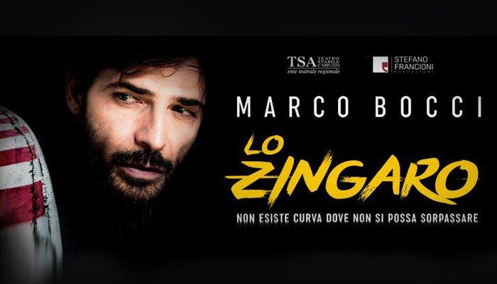 """Marco Bocci interpreta """"lo zingaro"""""""
