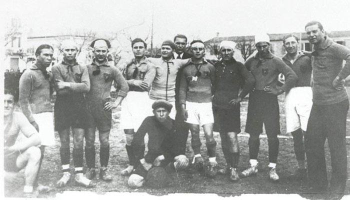 Fotostoria del calcio a Cattolica dagli anni'20 agli anni'60