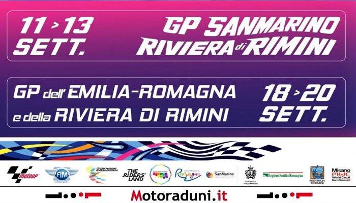 Moto Gp San Marino e GP dell'Emilia Romagna e della Riviera di Rimini