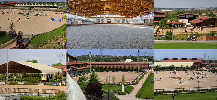 Riviera Horse Resort - i sei campi