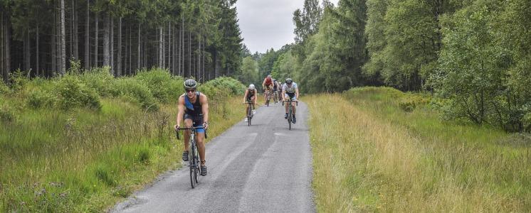Itinerari e percorsi per ciclisti, cicloamatori e mountainbikers