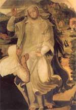 Pompeo Morganti - Apparizione della Vergine - Trebbio di Montgridolfo