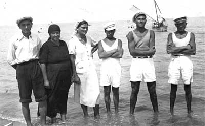 Bagnini Cattolica - anni '30