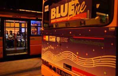 Blue Line - Linea notturna verso le principali discoteche