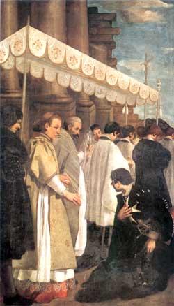 Processione del Santissimo Sacramento