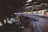 Interno della biblioteca