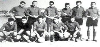 La formazione del 1962- 63