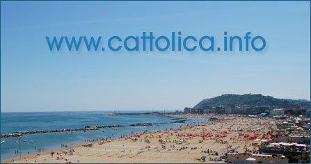 La spiaggia di Cattolica