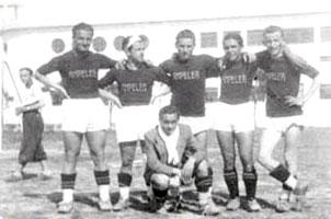 Cattolica, 15 giugno 1939 -Fotoricordo al Campo della Colonia marina Le Navi.