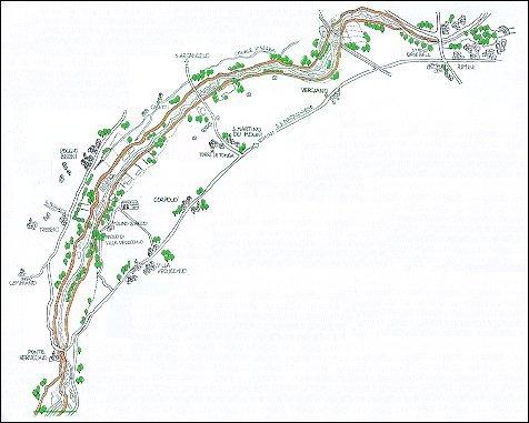 Itinerario ciclistico Rimini - Ponte Verucchio - Rimini