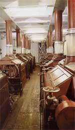 I vecchi macchinari della Ghigi