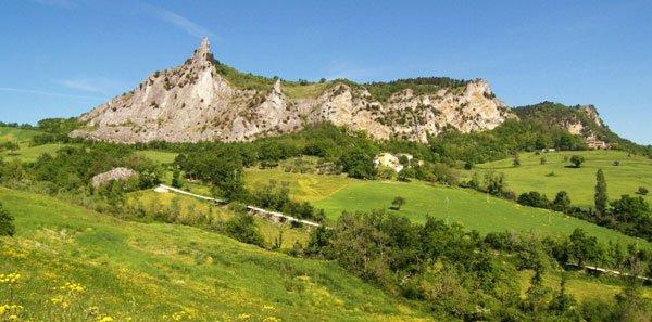 Paesaggio del Montefeltro presso San Leo