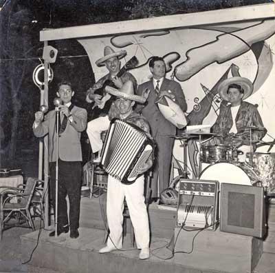 Cattolica, primi anni '50, Caffè Concerto Roma.