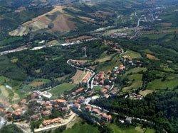 Vista panoramica di Montescudo - di Claudio Pedrazzi