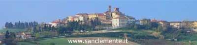 Panoramica del Comune di San Clemente