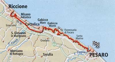 La Panoramica - Itinerario da Riccione a Pesaro