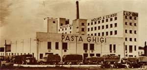 immagini storiche dell Pastificio Ghigi