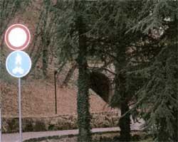 Percorso ciclabile dalla stazione di Borgo Maggiore alla stazione di Montalbo