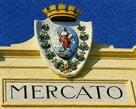 """""""Insegna"""" di Piazza Mercato a Cattolica"""