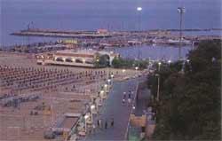 Porto di sera - Cattolica