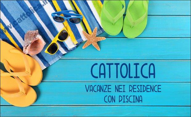 residence con piscina Cattolica