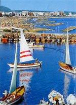 Rientro dei cutter nel porto di Cattolica