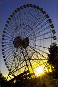 Ruota panoramica parco divertimenti
