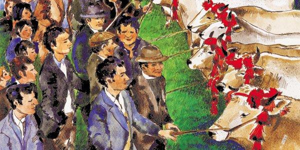 Antica Fiera di San Gregorio - Particolare del manifesto dell'anno 2007