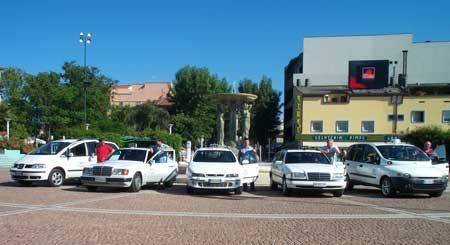 Parco macchine Taxi Cattolica