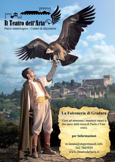 Il Teatro dell'Aria di Gradara - La Falconeria di Gradara