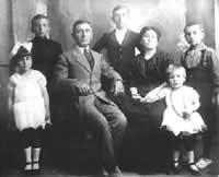La famiglia Tirincanti - fondatrice nel 1904 del forno Tirincanti a Cattolica