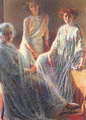 """Umberto Boccioni: """"Tre donne"""", 1910-11"""