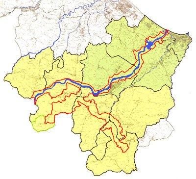 Valconca, aree protette