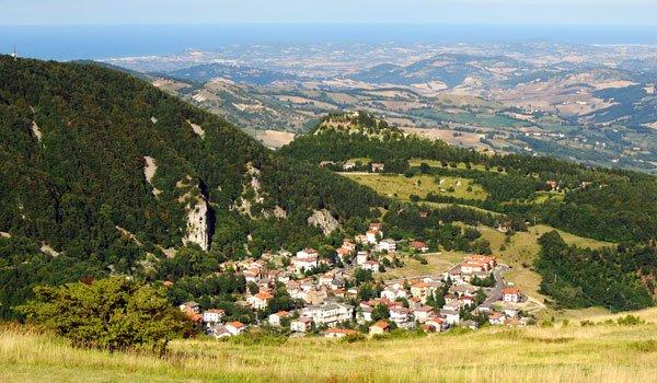 Tra le colline della Valmarecchia e della Valconca - Villa Grande